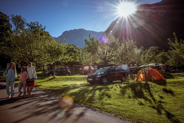 Erlebnis • Camping Mittagsspitze